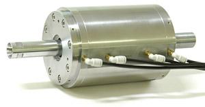 空気静圧軸受(エアベアリング)スピンドル